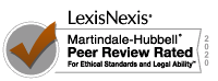 AV Peer Review Rated Martindale Hubbell